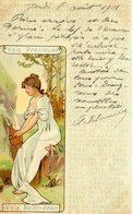 Publicité, Boisson, Eau Vals Précieuse, Vals Saint Jean, Illustrateur Art Nouveau - Publicité