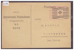 BERN - INTERNATIONALES FRIEDENSBUREAU - TB - BE Berne