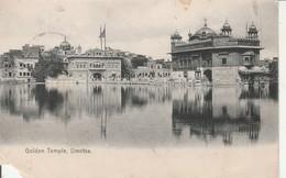 1909 Card Golden Temple Umritsa1a Stamp Sg123 Sea Post Office C CDS - India