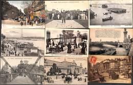 75 - Paris - Lot Sélection 39 Cartes (animation, Colorisée,,, Voir Scans) - France