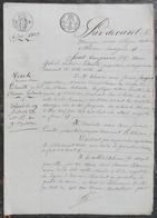 M.Lerouillé à Alençon,A.Fouquet à Sées,Anne Lerouillé à Alençon,vendent Une Maison à La Ville D'Alençon. - Manuscrits