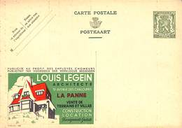 Louis Legein Architecte La Panne  Publibel 258 - Ganzsachen