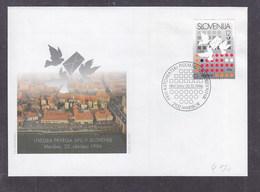 Slovenia 1996 First Automatic Letter Sorting Machine FDC - Slovenia