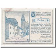 Billet, Autriche, Oftering, 10 Heller, Château, 1920, 1920-04-18, SPL - Autriche