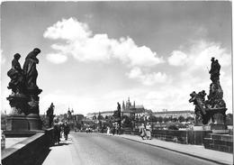PRAHA - Karluv Most V. Posadi Prazsky Hrad - Prague Castle And The Charles Bridge - Tchéquie