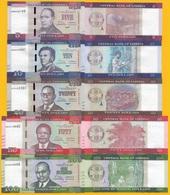 Liberia Set 5 10 20 50 100 Dollars 2016 UNC Banknotes - Liberia