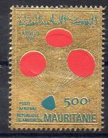 MAURITANIE   Timbre Neuf ** De 1970 ( Ref 6374 )  Espace - Apollo 13 - Timbre Or - Mauritanie (1960-...)