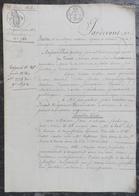 V.Osmont,Maire De Saint-Denis-sur-Sarthon, Vend à J.Lecointre-Minoret,Négociant à Alençon,une Maison Fbg Saint-Blaise - Manuscrits