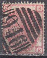 Great Britain 1873 - Queen Victoria, 3d - Mi.41 Plate 11 - Wmk 6 - Rose - Used - Oblitérés