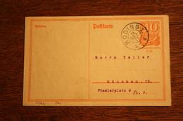 ( 2886 ) Ganzsache Deutsches Reich P  141 I  Gelaufen  -   Erhaltung Siehe Bild - Deutschland