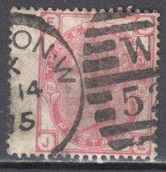 Great Britain 1873 - Queen Victoria, 3d - Mi.41 Plate 16 - Wmk 6 - Rose - Used - Oblitérés