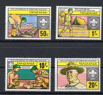 TANZANIE   Timbres Neufs ** De 1982    ( Ref 6376  )  Scoutisme - Tanzanie (1964-...)