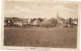 D46 - PAYRAC - VUE GENERALE - Carte Sépia - Autres Communes