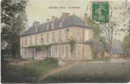 D60 - ESCHES - LE CHÂTEAU - Carte Colorisée - France