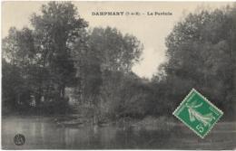D77   - DAMPMART - LE PERTUIS - Barque - Autres Communes
