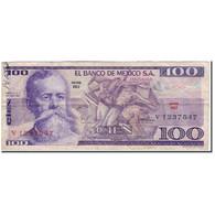 Billet, Mexique, 100 Pesos, 1974-05-30, KM:66a, TB - México