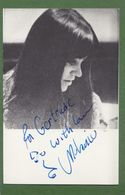 MELANIE Original In Person Signed Photo AUTOGRAPHE / AUTOGRAMM  9,5/14,5 Cm - Autographes
