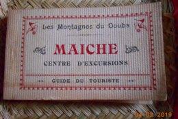 25 - CARNET SUR MAICHE CENTRE D'EXCURSIONS - 20 CARTES - DESCRIPTIF DERRIERE CHAQUE CARTE - Autres Communes