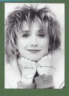 ANNE MARIE CHAZEL Original In Person Signed Photo AUTOGRAPHE / AUTOGRAMM  10x15 Cm - Autographes