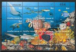 Thaïlande (Siam) N°1958 à 1966 Poisson 2001 ** - Thaïlande