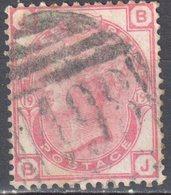 Great Britain 1873 - Queen Victoria, 3d - Mi.41 Plate 19 - Wmk 6 - Rose - Used - Oblitérés
