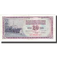 Billet, Yougoslavie, 20 Dinara, 1978, 1978-08-12, KM:85, SUP - Yougoslavie