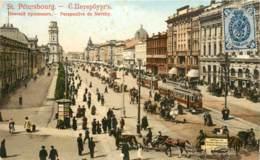 RUSSIE SAINT PETERSBOURG PERSPECTIVE DE NEVSKY - Russie