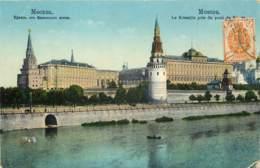 RUSSIE MOSCOU LE KREMLIN PRIS DU PONT DE PIERRE - Russie