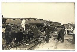 Catastrophe De TRAIN - Photographe D' AMIENS - CARTE PHOTO - Amiens
