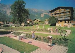Switzerland Brienz Hotel Krone Postcard Hofstetten 1982 Postmark Used Good Condition - Suisse