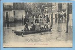 Inondations De Béziers 34 Le Sauvetage 2scans 16e Corps D'Armée Hôpital Temporaire N°29 Béziers Médecin Chef Pompiers - Beziers
