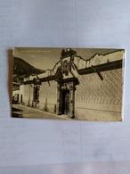 México Taxco Postcard Photo Signed Shows Front Of Baron De Humboldt House - Mexico