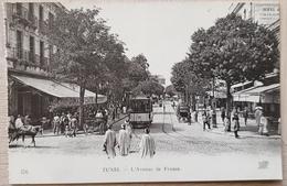 Tunis L'Avenue De France - Tunisia