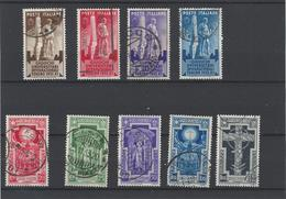 Italia Regno ,2 Serie Complete Usate ,splendide - 1900-44 Vittorio Emanuele III