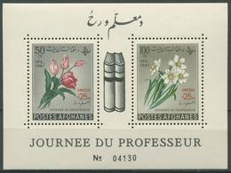 Afghanistan 1961 UNESCO: Blumen Block 19 A Postfrisch (C74574) - Afghanistan