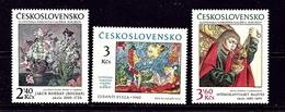 Czechoslovakia 2209-11 MNH 1978 Art Works - Czech Republic