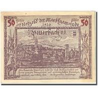 Billet, Autriche, Peuerbach, 50 Heller, Château 1920-03-24, SUP Mehl:FS 741Ia - Autriche