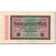 Billet, Allemagne, 20,000 Mark, 1923, KM:85e, SUP - 20000 Mark