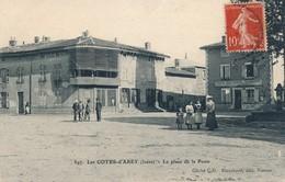 I110 - 38 - LES COTES-D'AREY - Isère - La Place De La Poste - Autres Communes