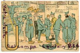 - 6 - Militaria - NOS SOLDATS - Humour, U, Comme Uniforme, Ancienne, Non écrite, Scans. - Humour