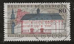 Allemagne 1986 N°Y.T. : 1127 Obl. - [7] Federal Republic
