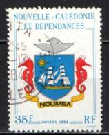 NUOVA CALEDONIA - 1984 - Arms Of Noumea - USATO - Nuova Caledonia
