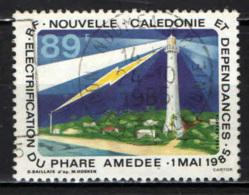 NUOVA CALEDONIA - 1986 - Amedee Lighthouse Electrification - USATO - Nuova Caledonia