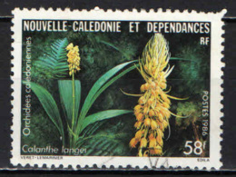 NUOVA CALEDONIA - 1986 - Calanthe Langei - USATO - Neukaledonien