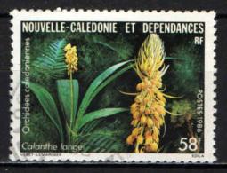 NUOVA CALEDONIA - 1986 - Calanthe Langei - USATO - Nuova Caledonia