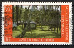 NUOVA CALEDONIA - 1986 - Inland Village - USATO - Nuova Caledonia