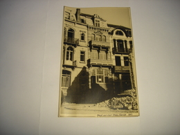 TE ZIEN !! HEIST ( KNOKKE ) - PHOTO FORMAT CPA - VILLA RENEE 1945 - Knokke
