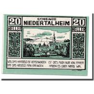 Billet, Autriche, Niederthalheim, 20 Heller, Paysage, 1920, 1920-04-21, SPL - Autriche