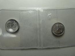 Egypt 2 Coins 1 Millieme 1972 - Egitto