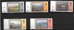 Falkland Islands Dependances N°153/157** .cote 30,00€ - Falkland